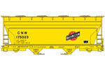 Chicago & North Western ACF 2-Bay Covered Hopper #175023