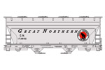 Great Northern ACF 2-Bay Covered Hopper #173852