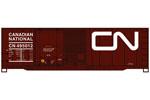 Canadian National 40' Combo Door Steel Box Car #495012