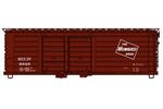 Milwaukee Road 40' Double Door Rib-Side Box Car #6849