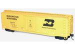 Burlington Northern (Western Fruit Express) 50' Plug Door Riveted Steel Box Car #79248