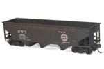 Detroit Toledo & Ironton 70-Ton Offset Side Triple Hopper #1632