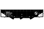 Great Northern 70-Ton Offset Side Triple Hopper #78154