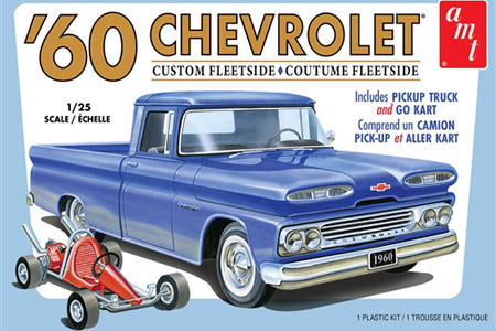 1960 Chevy Custom Fleetside Pickup w/ Go Kart