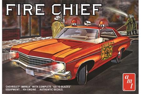 "1970 Chevy Impala ""Fire Chief"""