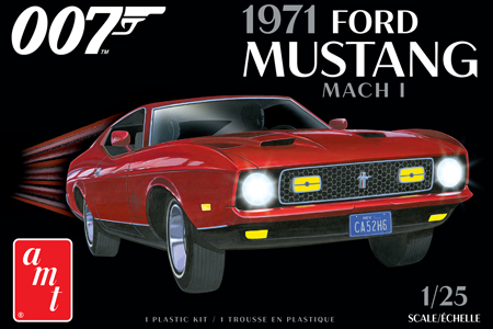 """1971 Ford Mustang Mach I """"James Bond"""""""