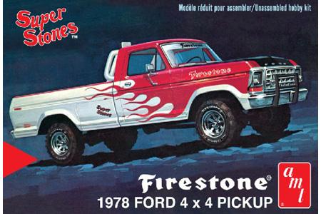 """1978 Ford 4x4 Pickup """"Firestone"""""""