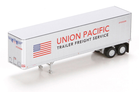 40' Fruehauf Z-Van Trailer - Union Pacific #202135