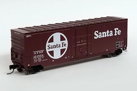 Santa Fe 50' Hi-Cube Smooth Side Box Car #151654