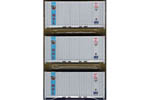 20' Panel Side Container 3 Pack - Mitsui OSK Lines