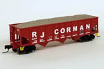 RJ Corman 40' Outside-Braced Ballast Hopper #176941