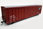 Chicago & North Western 50' FMC Double Door Box Car #67735