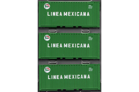 20' Corrugated Container 3 Pack - Linea Mexicana
