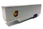 40' Drop Sill Parcel Trailer - UPS #708801