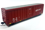BNSF 50' FMC Superior Plug Door Box Car #712997