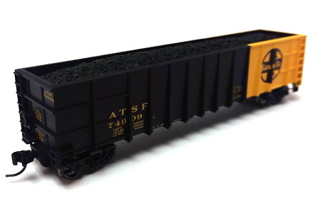 Santa Fe 50' Thrall High Side Coal Gondola #74909