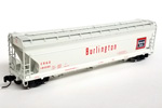 Chicago, Burlington & Quincy ACF 4600 3-Bay Centerflow Hopper #184586