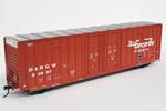 Denver & Rio Grande Western 60' Berwick Hi-Cube Box Car #63897