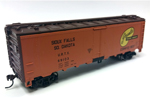 Greenlee Packing Co. 40' Steel Reefer #69103