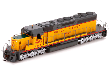 Union Pacific SD40-2 #8008 (DC Version)