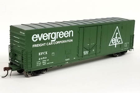 Evergreen Freight Car Co. 50' PCF Box Car #2450
