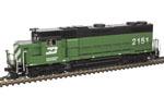 Burlington Northern GP38-2 #2154 (DC Version)