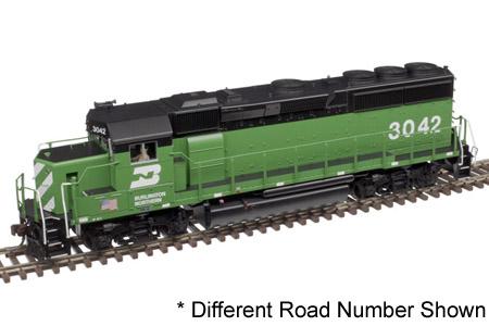 Burlington Northern GP40-2 #3055 (DCC & Sound)