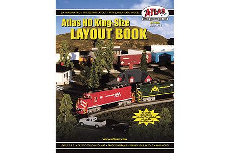 Atlas HO King-Size Layout Book
