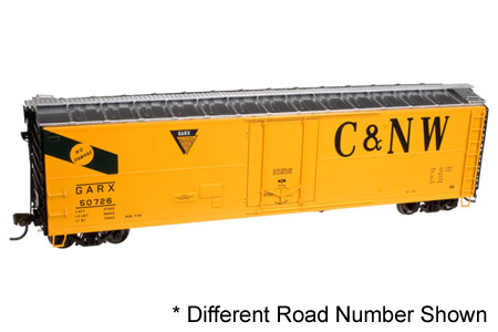 Chicago & North Western 50' GARX Insulated Box Car #50724