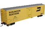 Burlington Northern 50' Plug Door Box Car #745087