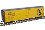 Great Northern (RBWX) 50' Plug Door Box Car #64117