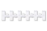C80 Insulating Rail Joiners (24 Pack)