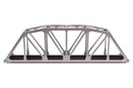 "C80 10"" Through Truss Bridge Kit (Silver)"