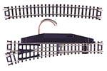 C80 Snap Track - Remote Standard Left Hand Turnout