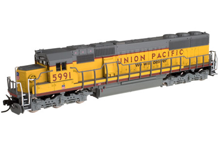 Union Pacific SD60 #5991 (DC Version)