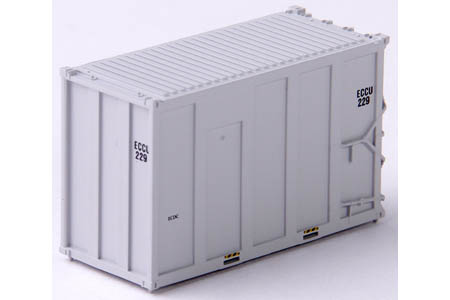 20' Hi-Cube MSW Container 4 Pack - ECCU (Set #1)