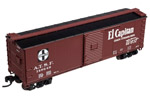 "Santa Fe ""El Capitan"" USRA Steel Rebuilt Box Car #148595"