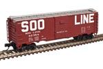 Soo Line 1932 ARA Steel Box Car #42204