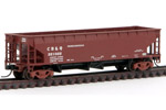 Chicago, Burlington & Quincy Hart Ballast Hopper #221022