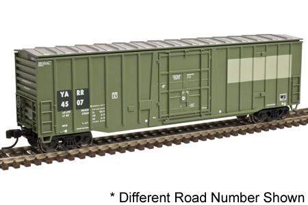 YARR 50' NSC Plug Door Box Car #4525