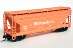 Potash ACF 3560 Covered Hopper #1522