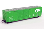 Camino, Placerville & Lake Tahoe 50' FMC 5077 Double Door Box Car #7722