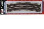 """C83 Snap Track - 18"""" Radius Curve (6 Pack)"""