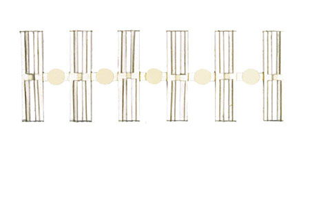 C100 Insulating Rail Joiners (24 Pack)