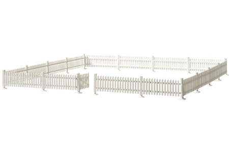 Picket Fence & Gate