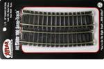 """C100 Snap Track - 18"""" Radius 1/2 Curve (4 Pack)"""