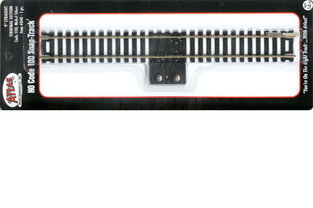"""C100 Snap Track - 9"""" Straight Terminal Track"""