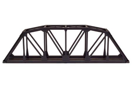 "C100 18"" Through Truss Bridge Kit (Black)"