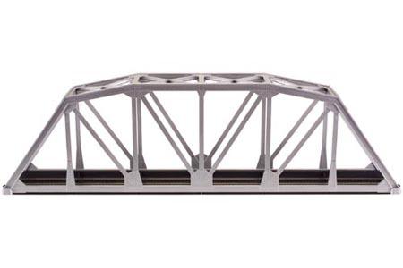 "C100 18"" Through Truss Bridge Kit (Silver)"