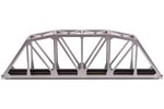 "C100 18"" Through Truss Bridge Kit (Silver)"